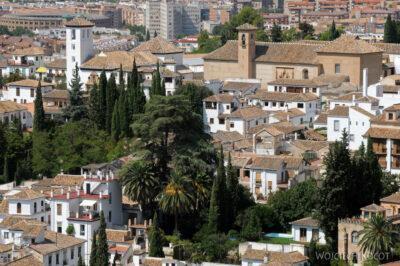 Por10130-Alhambra-widok zAlcazaba