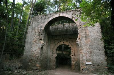 Por10301-Stara brama niedaleko Alhambry