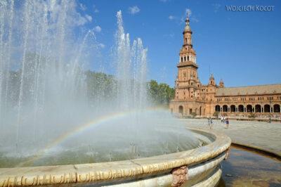 Por12034-Sevilla-Fontanna naPlaza de Espana - tu Expo