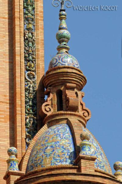 Por12056-Sevilla-Budowle naPlaza de Espana - tu Expo