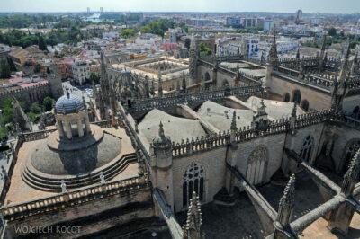 Por12133-Sevilla-Katedra - widoki zwieży
