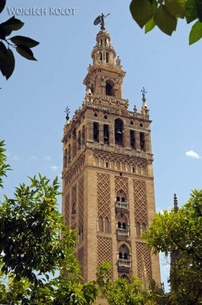 Por12152-Sevilla-Katedra - wieża