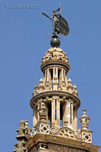 Por12162-Sevilla-Katedra - Św Michał nawieży