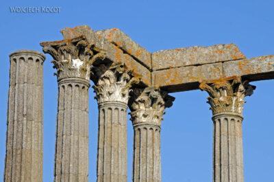 Por13030-Evora - Świątynia Rzymska