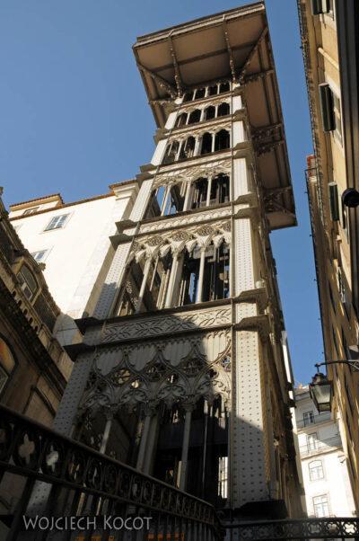Por14012-Lizbona - Elevador de Santa Justa