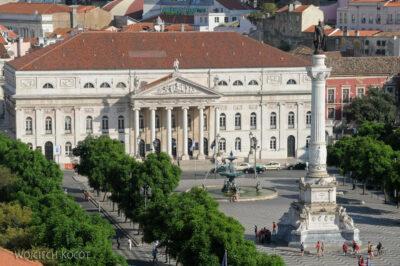 Por14017-Lizbona - Plac przedTeatro Nacional