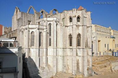 Por14020-Lizbona - Katedra zniszczona przeztrzesienie ziemi