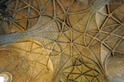 Por14045-Lizbona - Mosteiro dos Jerónimos - sklepienie