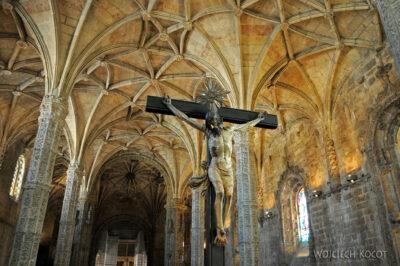Por14051-Lizbona - Mosteiro dos Jerónimos - wnętrze