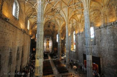 Por14052-Lizbona - Mosteiro dos Jerónimos - wnętrze