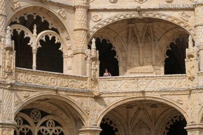 Por14068-Lizbona - Mosteiro dos Jerónimos - krużganki