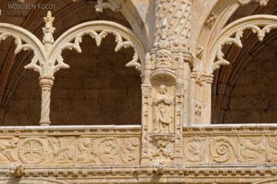 Por14071-Lizbona - Mosteiro dos Jerónimos - krużganki