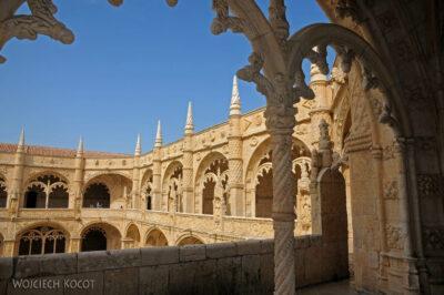 Por14085-Lizbona - Mosteiro dos Jerónimos - krużganki