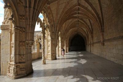 Por14092-Lizbona - Mosteiro dos Jerónimos - krużganki