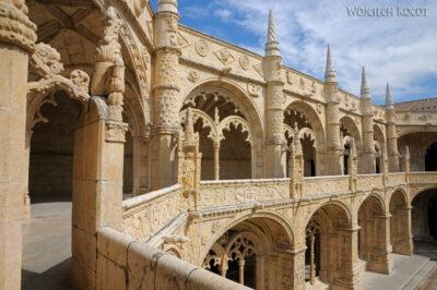 Por14093-Lizbona - Mosteiro dos Jerónimos - krużganki