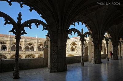 Por14095-Lizbona - Mosteiro dos Jerónimos - krużganki
