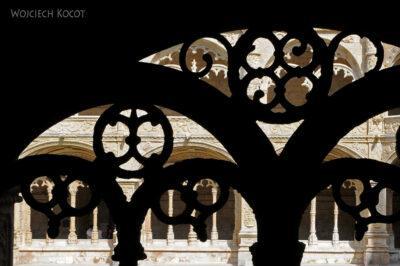 Por14097-Lizbona - Mosteiro dos Jerónimos - krużganki