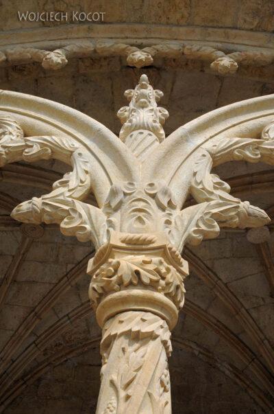 Por14101-Lizbona - Mosteiro dos Jerónimos - krużganki - detale