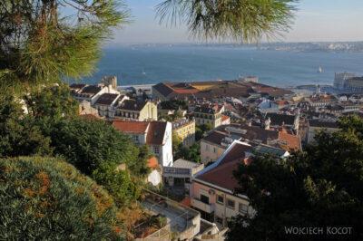 Por14257-Lizbona - widoki zZamku