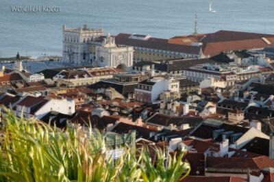 Por14261-Lizbona - widoki zZamku