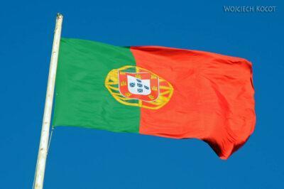 Por14264-Lizbona - Flaga naZamku