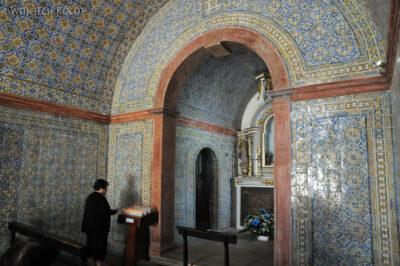 Por15031-Ericeira - Wnętrze Kościułka azulejos