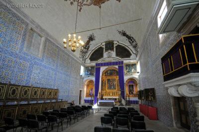 Por15067-Obidos - Wnętrze kościoła