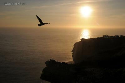 Por15123-Nazare - Zachód Słońca