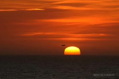 Por15130-Nazare - Zachód Słońca