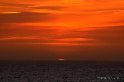 Por15131-Nazare - Zachód Słońca