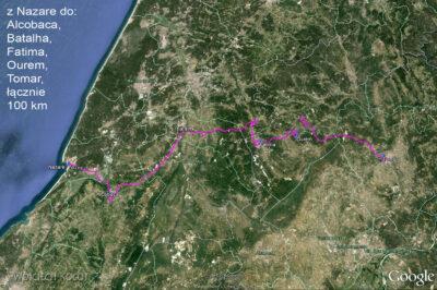 Por16002-Mapka przejazdu