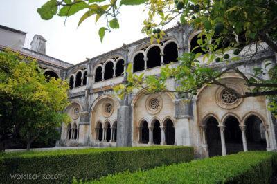 Por16042-Alcobaca - Dziedziniec Klasztorny