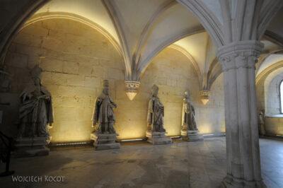 Por16045-Alcobaca - Klasztor - wnętrze