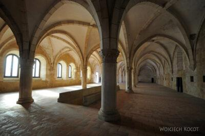 Por16062-Alcobaca - Klasztor - wnętrze