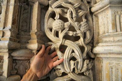 Por16168-Batalha - Klasztor - Kaplica Niedokończona - detale