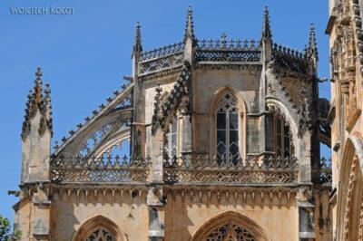 Por16184-Batalha - Klasztor - detala architektoniczne