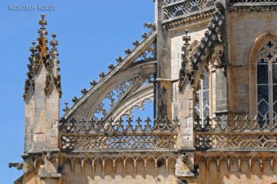 Por16185-Batalha - Klasztor - detala architektoniczne