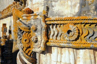 Por16284-Tomar - Klasztor-Zamek - detale przy Okne Manuelińskim