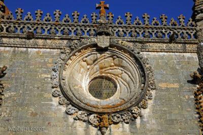 Por16290-Tomar - Klasztor-Zamek - detale przy Okne Manuelińskim