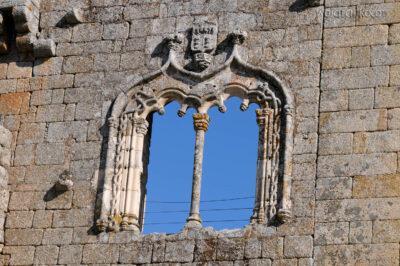 Por17115-Belmonte - Okno Manuelińskie naZamku