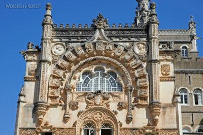 Por18031-Buçaco - Pałac - detala architektoniczne