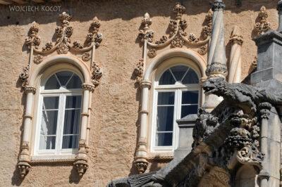Por18037-Buçaco - Pałac - detala architektoniczne