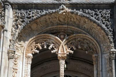 Por18040-Buçaco - Pałac - detala architektoniczne