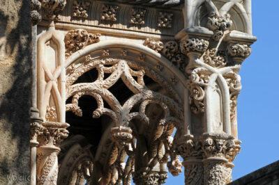 Por18042-Buçaco - Pałac - detala architektoniczne