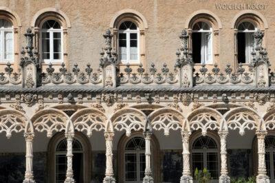 Por18047-Buçaco - Pałac - detala architektoniczne