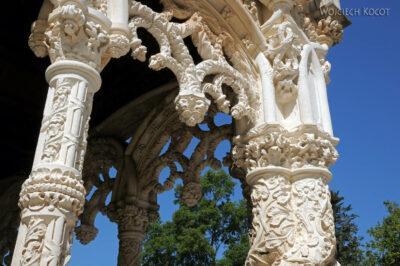 Por18054-Buçaco - Pałac - detala architektoniczne