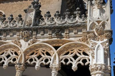 Por18058-Buçaco - Pałac - detala architektoniczne