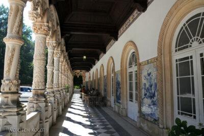 Por18060-Buçaco - Pałac - krużganki