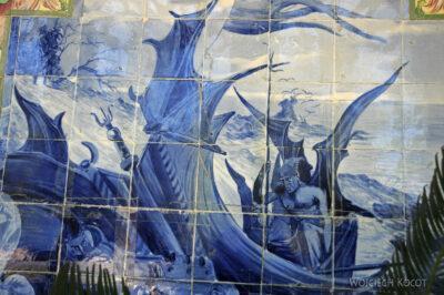 Por18061-Buçaco - Pałac - azulejos nakrużgankach