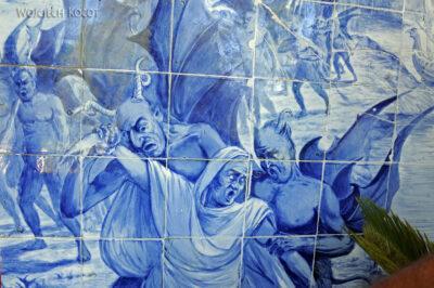 Por18062-Buçaco - Pałac - azulejos nakrużgankach
